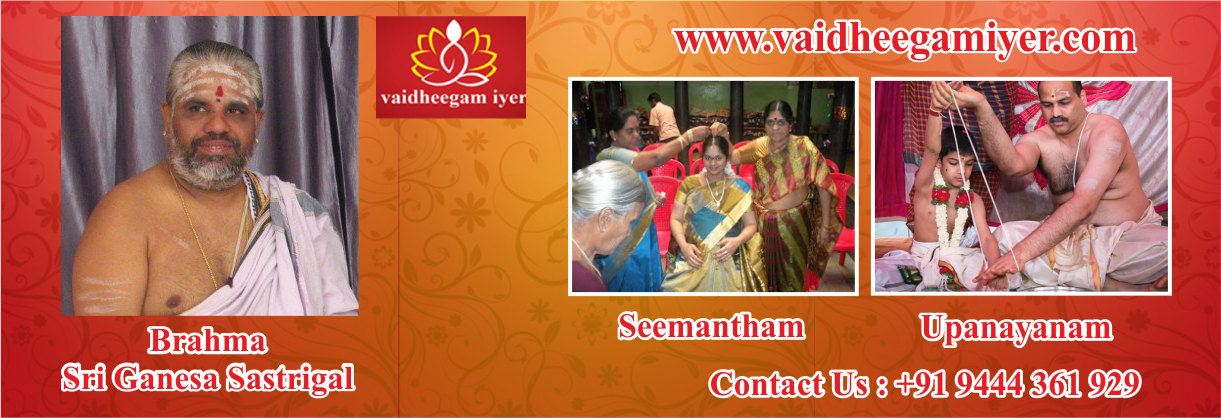 pandit for marriage in chennai